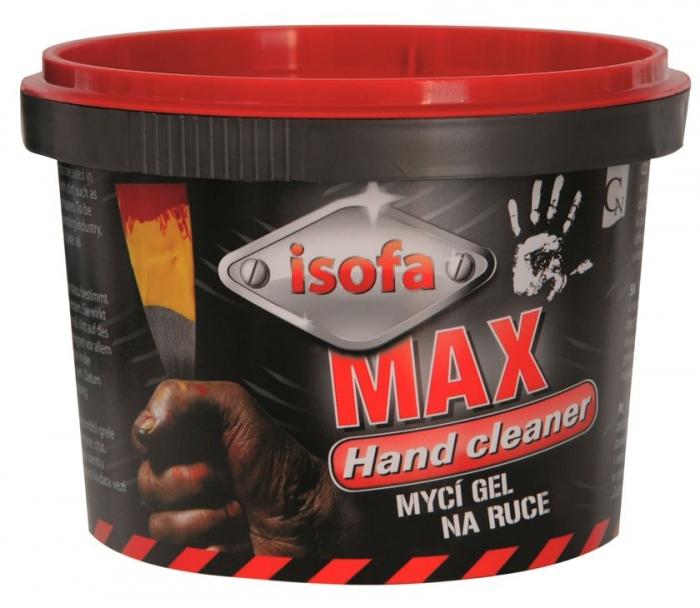 Gel de curatat mainile ISOFA abraziv - 450g 0