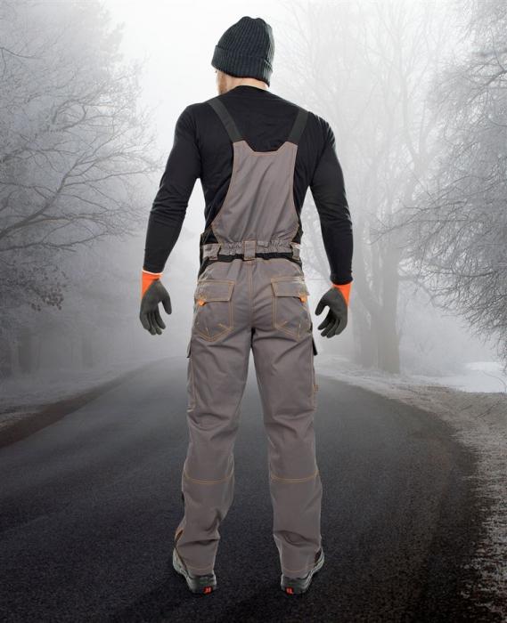 Pantaloni cu pieptar vatuiti de iarna VISION 2