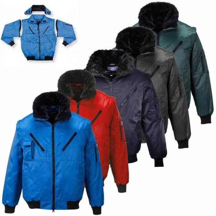 EXFORD | Jacheta de iarna cu maneci, guler si interior detasabil 2