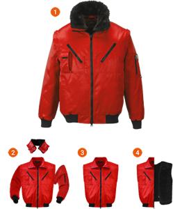 EXFORD | Jacheta de iarna cu maneci, guler si interior detasabil 1